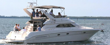 45' Say ray Yacht Charters, Boat Rentals,