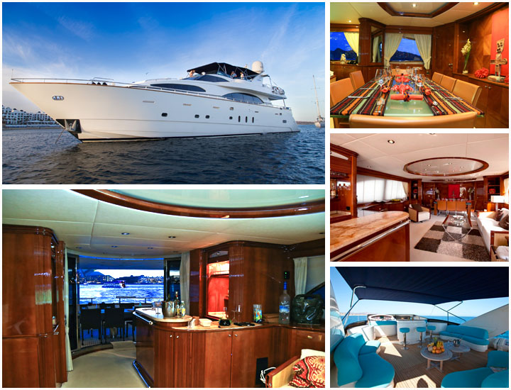 100' Azimut yacht Seattle Yacht Charters and Boat rentals